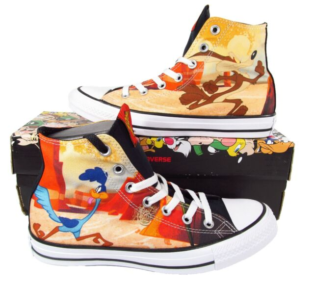 Converse x Looney Tunes Road Runner and Wile E. Coyote Chuck Taylor All Star