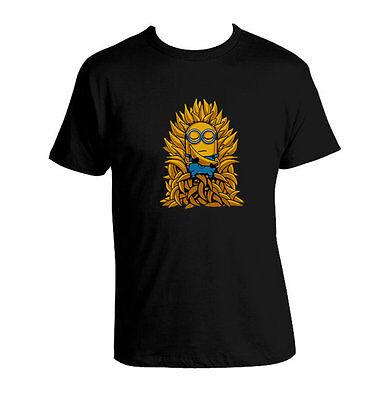 Despicable ME Minions Game Of Thrones Banana minion parody shirt Custom T-shirt