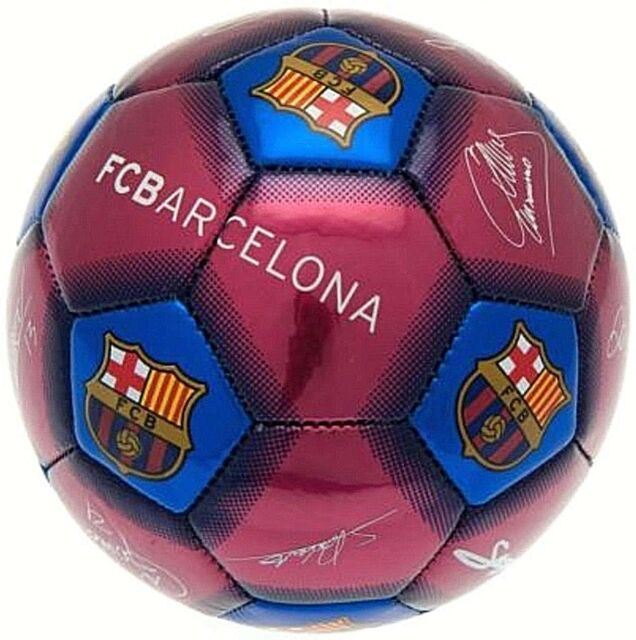 8b44806934e FC Barcelona 2019 Official Gift Size 1 CHILDS Ball Signature Football FCB  Barca