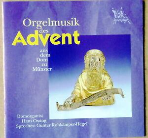 Orgelmusik des Advent aus dem Dom zu Münster - Hans Ossing - CD