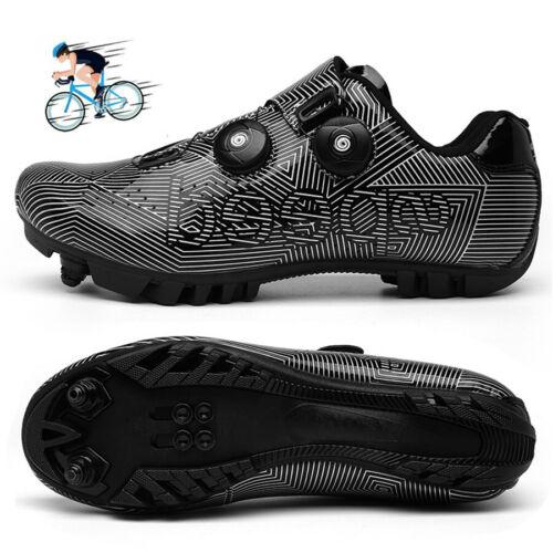 MTB Cycling Shoes Men Self-Locking Racing Road Mountain Bike Riding Shoe Sneaker
