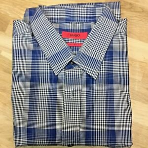 98a21a6f7bc  135 Hugo Boss Red Label Extra Slim Button Down Shirt - Men s M