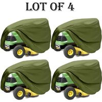 4 Lot Pyle Pcvltr11 Universal Indoor/outdoor Lawn Tractor Mower Protective Cover on sale
