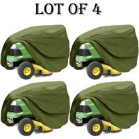 4 Lot Pyle Pcvltr11 Universal Indoor/outdoor Lawn Tractor Mower Protective Cover
