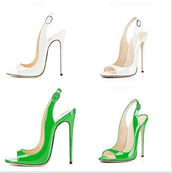 Stilettos Talon Haut Femme Bout Ouvert Sandales Boucle Escarpins Soirée Chaussures