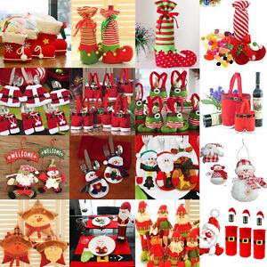 Santa Pants Christmas Candy Bags Wine Stocking Bottle Gift Bag Xmas ...