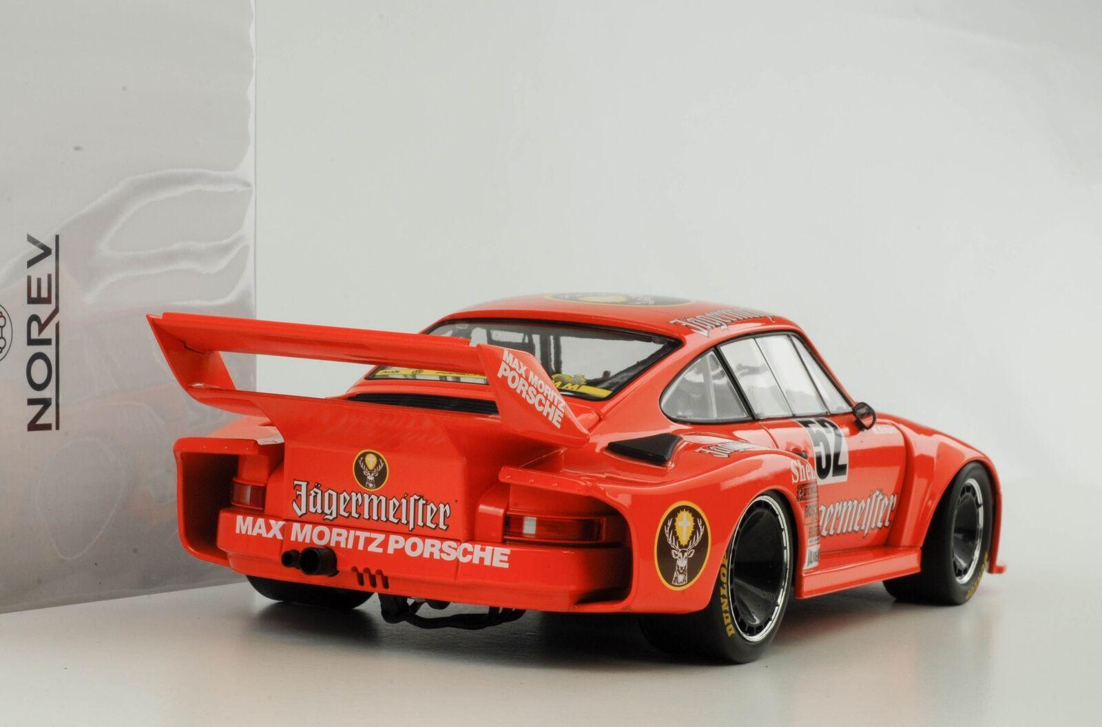 Porsche 935 Jagermeister Winner Bergischer Lion DRM Zolder Schurti 1 18 Norev