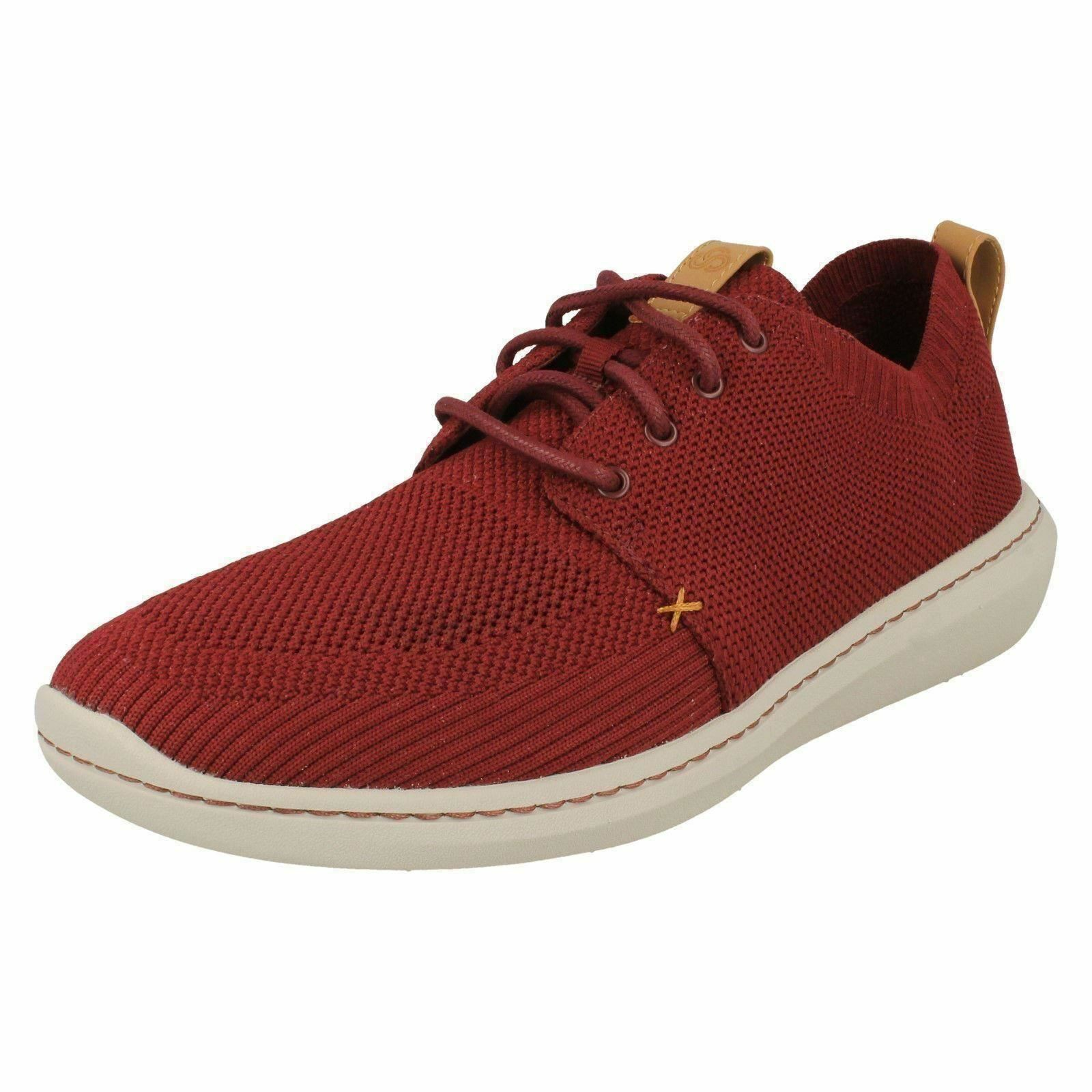 MENS SHOES CLARKS LACE UP CASUAL CLOUDSTEPPERS TRAINERS SHOES MENS SIZE STEP URBAN MIX 2079b5