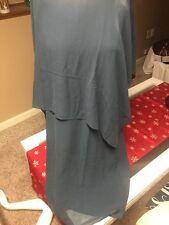 Eileen Fisher Ballet NK /l Dress Silk Georgette XS M8