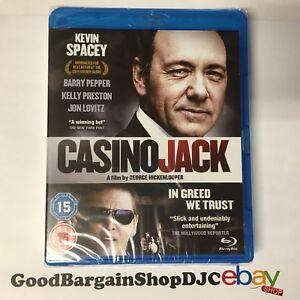 Casino Jack (Blu-ray, 2012) *New & Sealed*