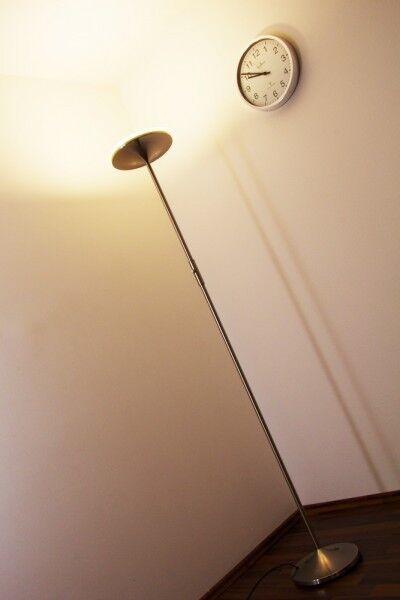 Piantana lampada a stelo design design design moderno metallo nichel opaco 1x20 watt 115120 bfe4a9