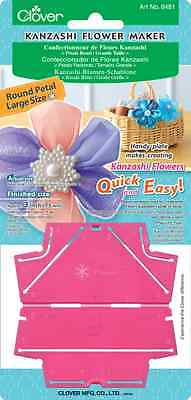 Clover Kanzashi Flower Maker Round Petal Large #CL8481 Sewing Quilting Notions