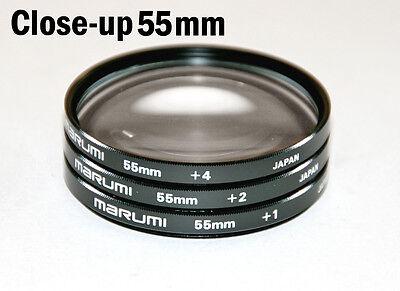 FILTRO CLOSE UP 72 mm 4 DIOTTRIE LENTE ADDIZIONALE MACRO per Canon Nikon Filter