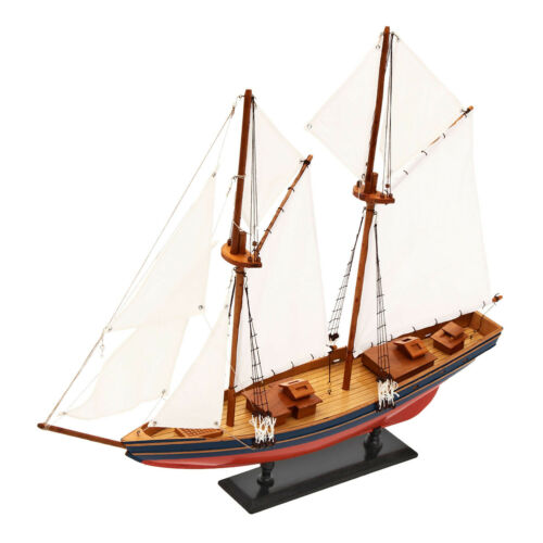 80cm Ship Assembly Model DIY Kits Wooden Sailing Boat Decor Wood Toy Gift New !