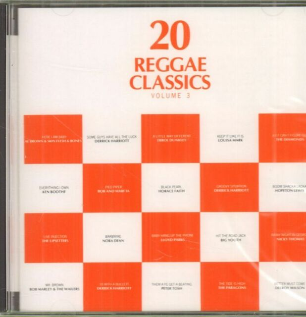 Various Reggae(CD Album)20 Reggae Classics Volume 3-Trojan-CD TRL 256-U-New