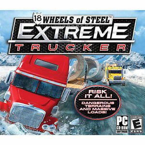 18-Wheels-of-Steel-Extreme-Trucker-drive-over-25-different-rigs-Brand-New