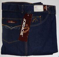 NWT Jordache Jeans Vintage 1970s USA Dark High Size 31, 52992