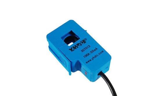 YHDC geteilter Kern Stromsensor SCT013-020 20A//1V ±1/% nicht invasiv