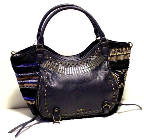 Geschenk Blau Rotterdam Dhl Umhängeriemen Handtasche Farbe Desigual wqXvt