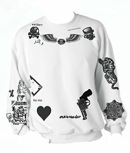One Direction Zayn Malik Styles The Newest Tattoo Sweatshirt 1D   eBay