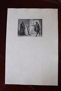 Franc ✒ 1879 Eau-forte Barrias Corneille Le Cid (iii,iv) - Sur Papier Japon 100ex.