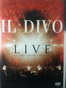 Il-Divo-Live-At-The-Greek-DVD-2006-Live-Concert-Free-Shipping