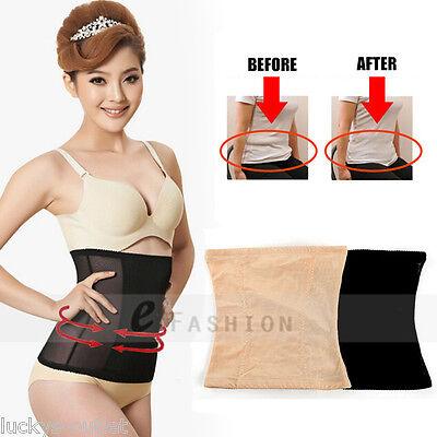 Invisible Tummy Trimmer Nude//Beige Medium Slimming Belt Waist Cincher Reducer