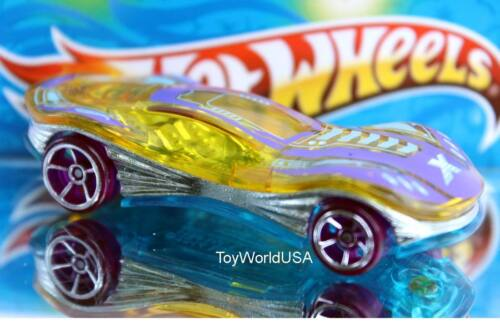 2017 Hot Wheels X-Raycers Clear Speeder