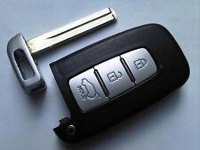 Genuine Hyundai 2010 II10 I20 I30 Etc 3 botón remoto alarma extraíble Uncut Clave Fob