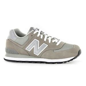 Image is loading New-Balance-Medium-Moyen-M574-Grey-Mens-Trainers