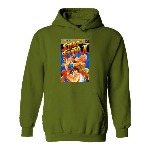 Games Gaming Computer Arcade Console PC 80s 90s #114 Street Fighter 2 Hoodie