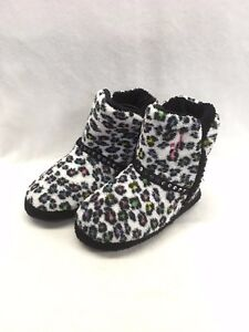 ea9f4b5304e9d6 Image is loading Ladies-Justin-Snow-Leopard-Kickers-Style-5710697