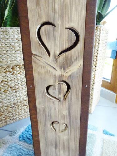 Säule,Podest,Holz,Herz,Blume,handarbeit Blumensäule Höhe 80 cm Blumenständer