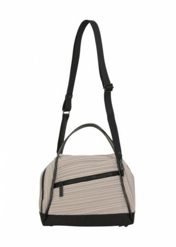 PLEATS PLEASE ISSEY MIYAKE BIAS PLEATS BAG 2 Colors Light Gray or Black JAPAN