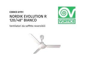 VORTICE VENTILATORE SOFFITTO NORDIK EVOLUTION R 120//48