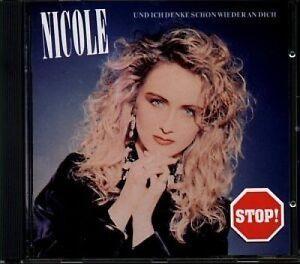 Nicole-Und-ich-denke-schon-wieder-an-dich-1991-CD