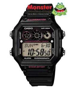 CASIO-WATCH-AE-1300WH-1A2V-AE1300-AE-1300-12-MONTH-WARANTY