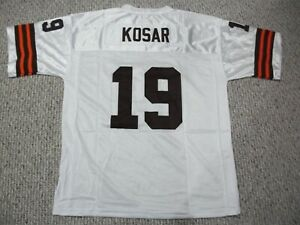 BERNIE KOSAR Unsigned Custom Cleveland White Sewn Football Jersey ...
