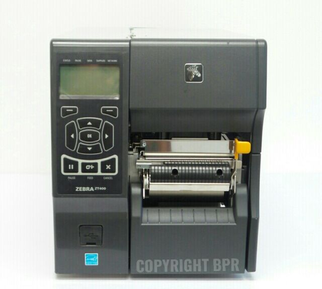 Zebra ZT410 FedEx Thermal Printer 203 dpi with Peel & Liner Take Up &  Ethernet