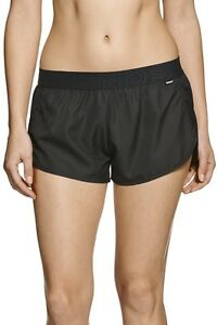 Bonds-Ladies-Black-Sports-Active-Running-Gym-Shorts-Size-S-New-CY86I
