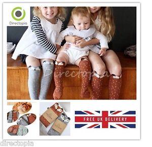 Children-039-s-Fashion-Knee-High-Fox-Socks-Cute-1-6-Years-Various-Sizes-Leg-Warmers