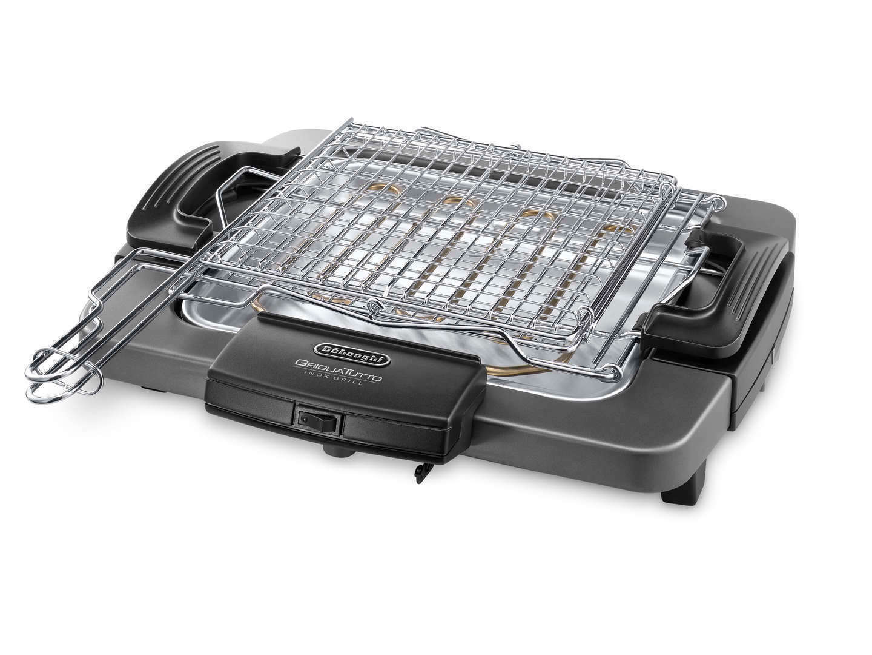 BQ60X Barbecue elettrico con griglia De Longhi