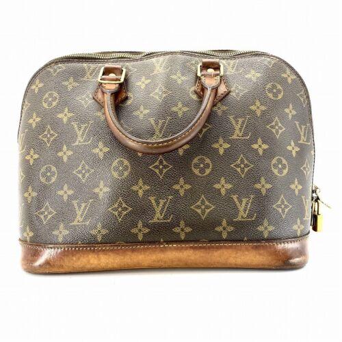Louis Vuitton Monogram Alma Hand Bag M51130 #DM381