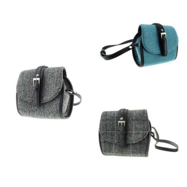 a2270771f Mini Harris Tweed Shoulder Bag Tyne by Glen Appin of Scotland Various  Colours