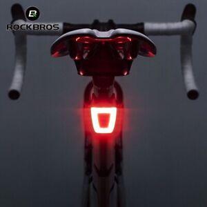 USB Chargable Bike Taillight Riding Rear Light LED Mountain Bike Light Tail Lamp