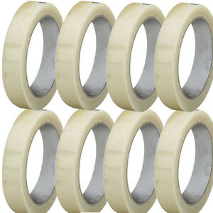 TAPE Rolls Of CLEAR STRONG Parcel Tape Packing sellotape Packaging 25mm x66m NEW