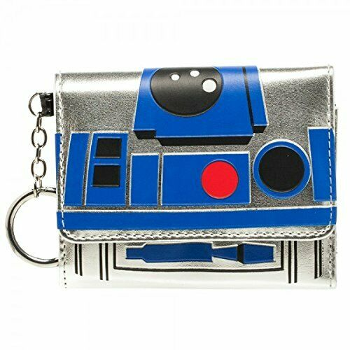 Star Wars R2D2 Mini Trifold Wallet New Licensed