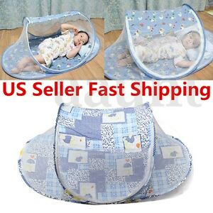 Portable-Baby-Kids-Summer-Mosquito-Foldable-Tent-Home-Travel-Net-Bed-Crib-US-a