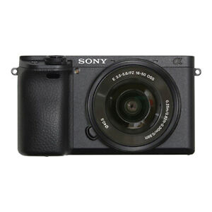 Sony Alpha a6400 Mirrorless 24.2MP 4K Digital Camera with 16-50mm Lens