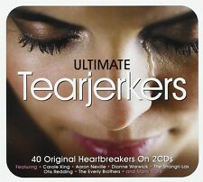 ULTIMATE TEARJERKERS -Carole King,The Everly Brothers, Dionne Warwick 2 CD NEU